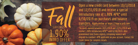 Fall Loan Special