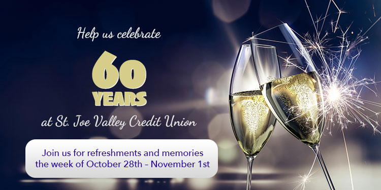 this month is our 60th anniversary